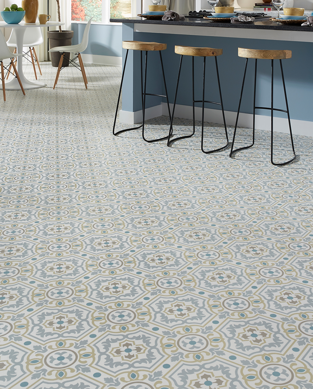 Resilient Vinyl Sheet Floors Designer