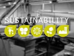 Sustainability environmental policy and accrediations