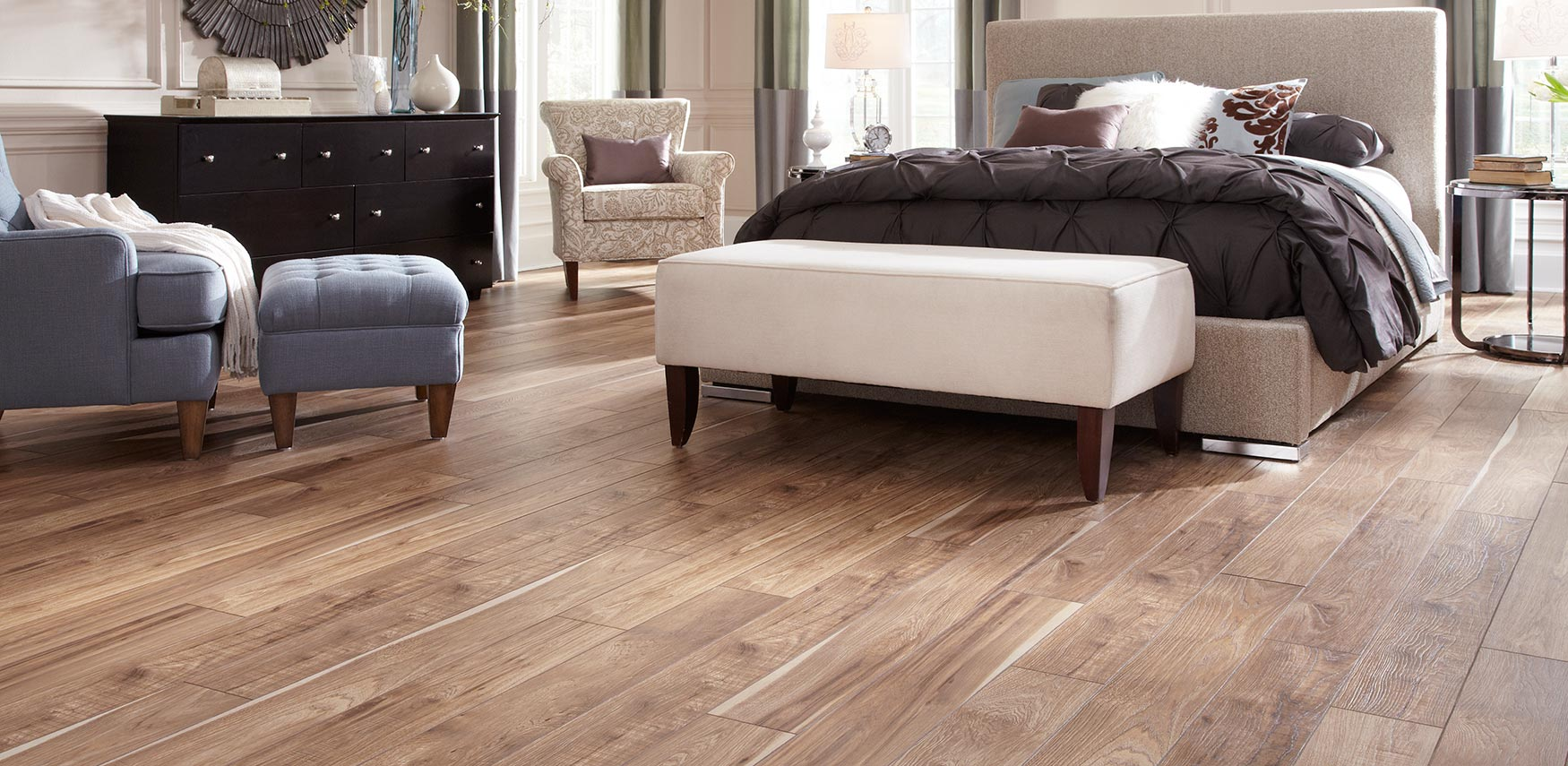 Mannington flooring resilient laminate hardwood for Luxury laminate