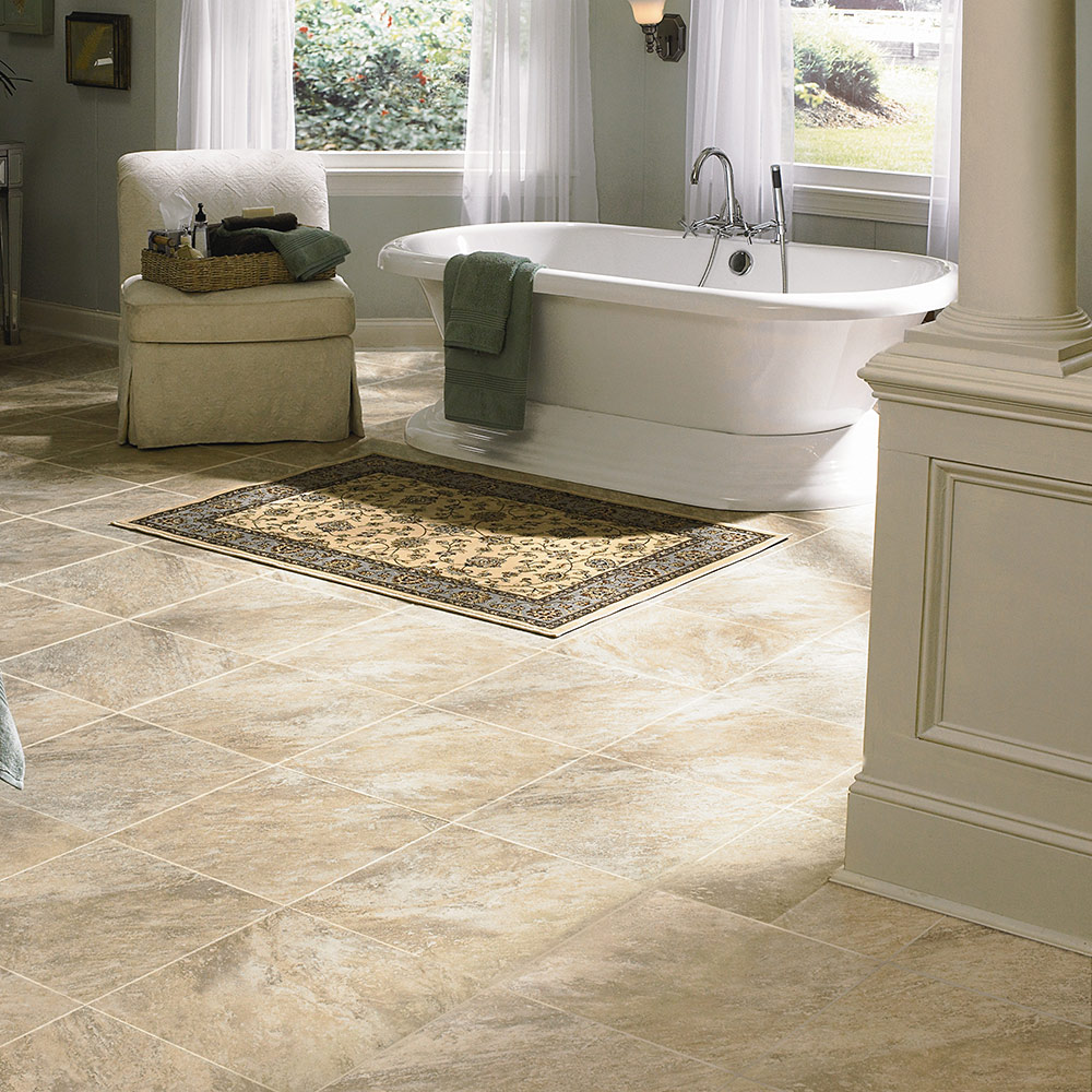 Adura luxury vinyl tile flooring mannington floors for Vinyl kitchen floor tiles