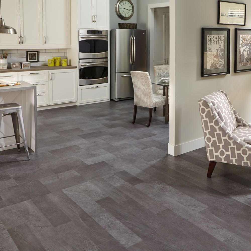 Mannington adura luxury vinyl tile flooring for Carpet and vinyl flooring