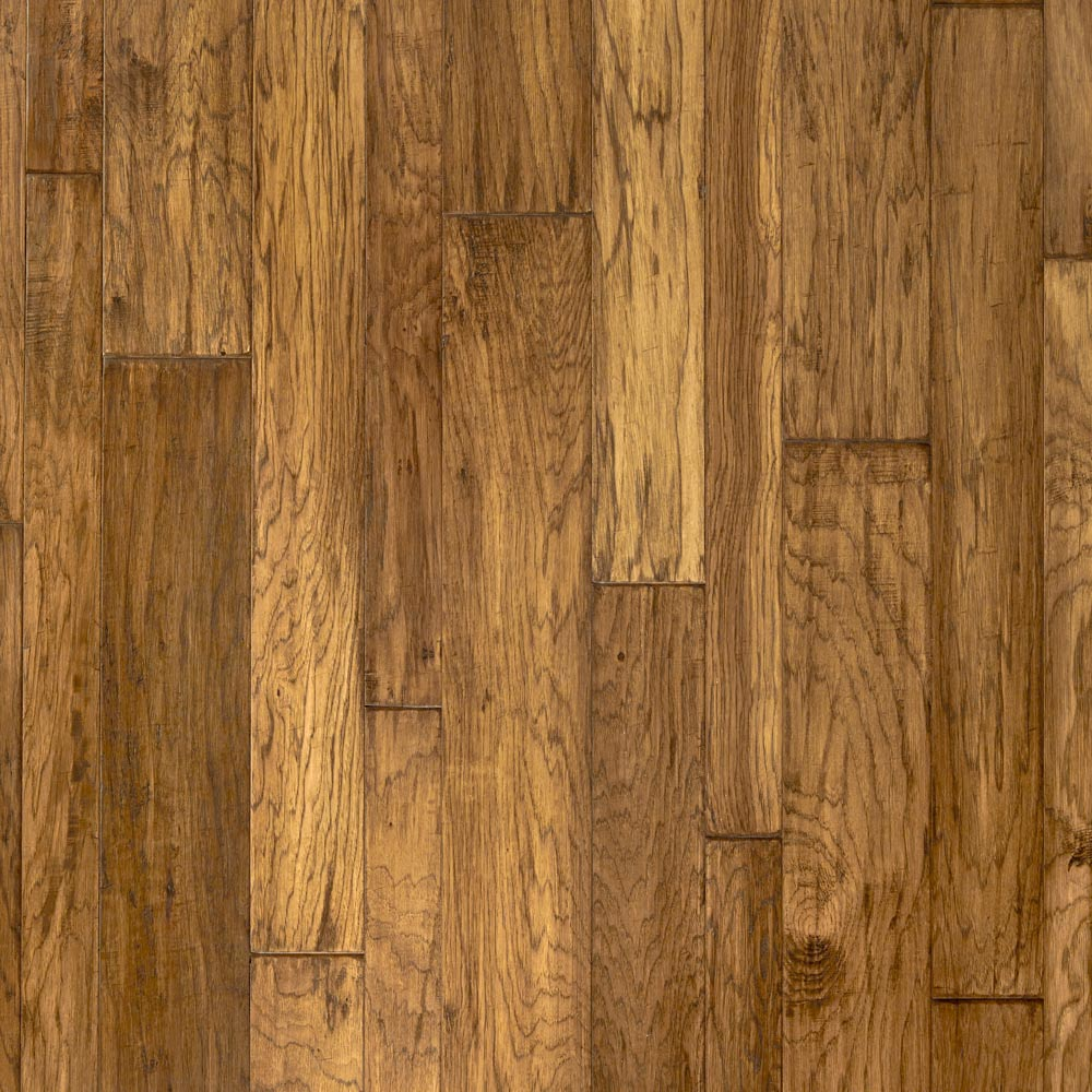 Mountain View Hickory Engineered Hardwood Rustic Plank