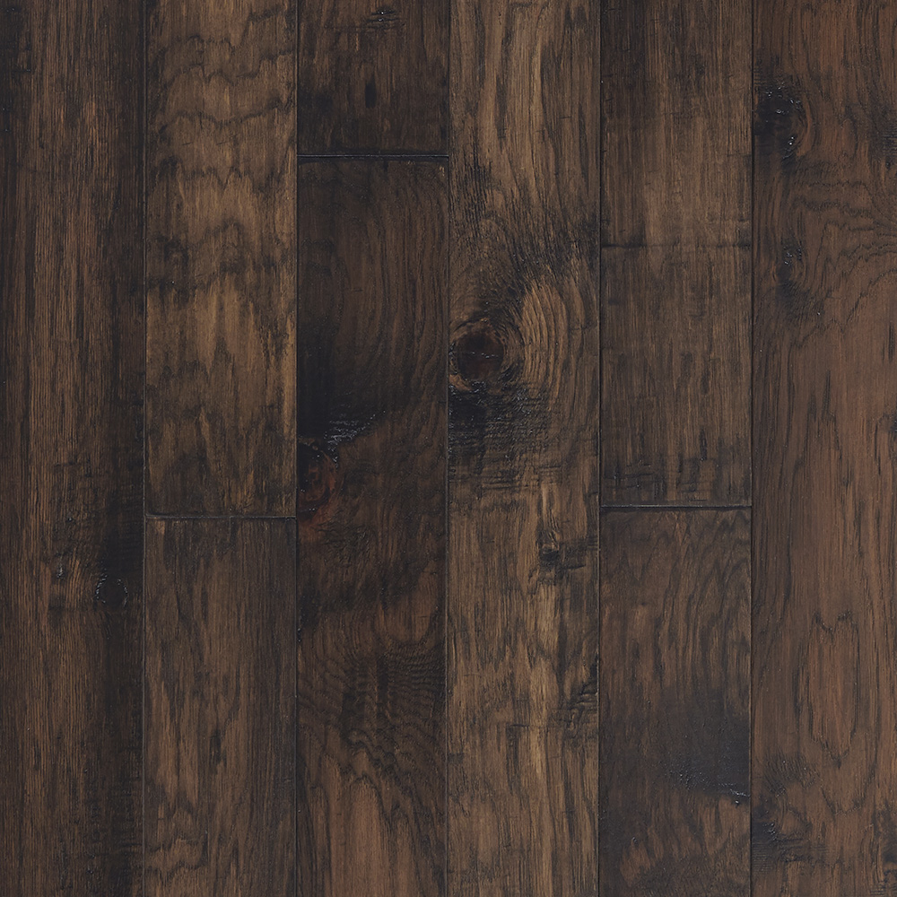 Mountain view hickory engineered hardwood rustic plank for Hardwood plank flooring