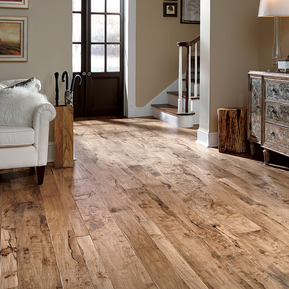 Mannington hand crafted rustics hardwood engineered wood for Home hardwood flooring