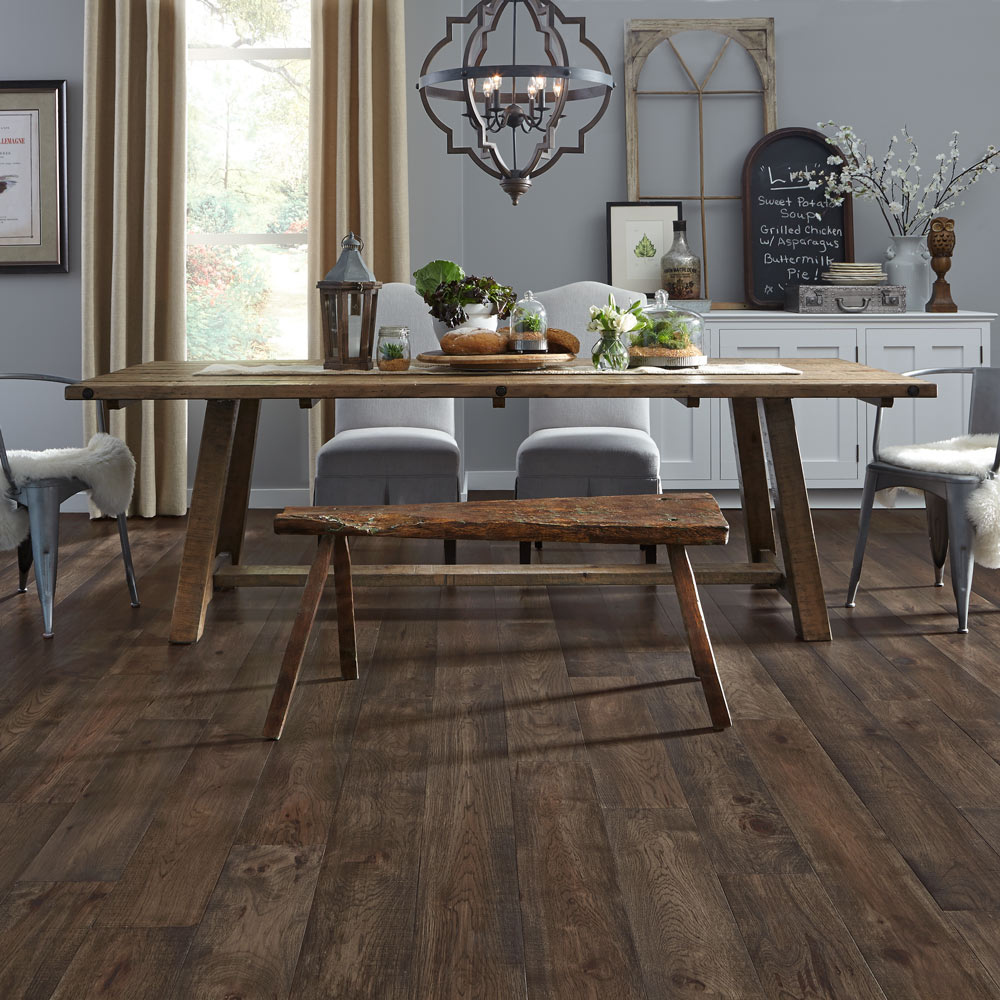 Engineered Hardwood Plank Flooring Smokehouse Hickory