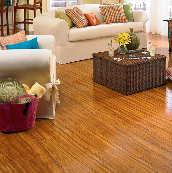 Laminate Diamond Bay wood look plank flooring