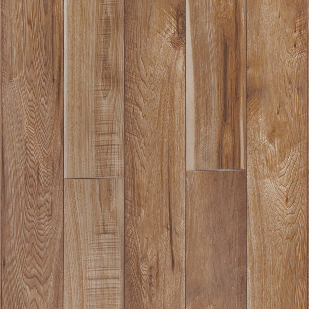 Hickory Laminate Flooring style selections 614 in w x 452 ft l barrel hickory handscraped wood plank Color Gunstock