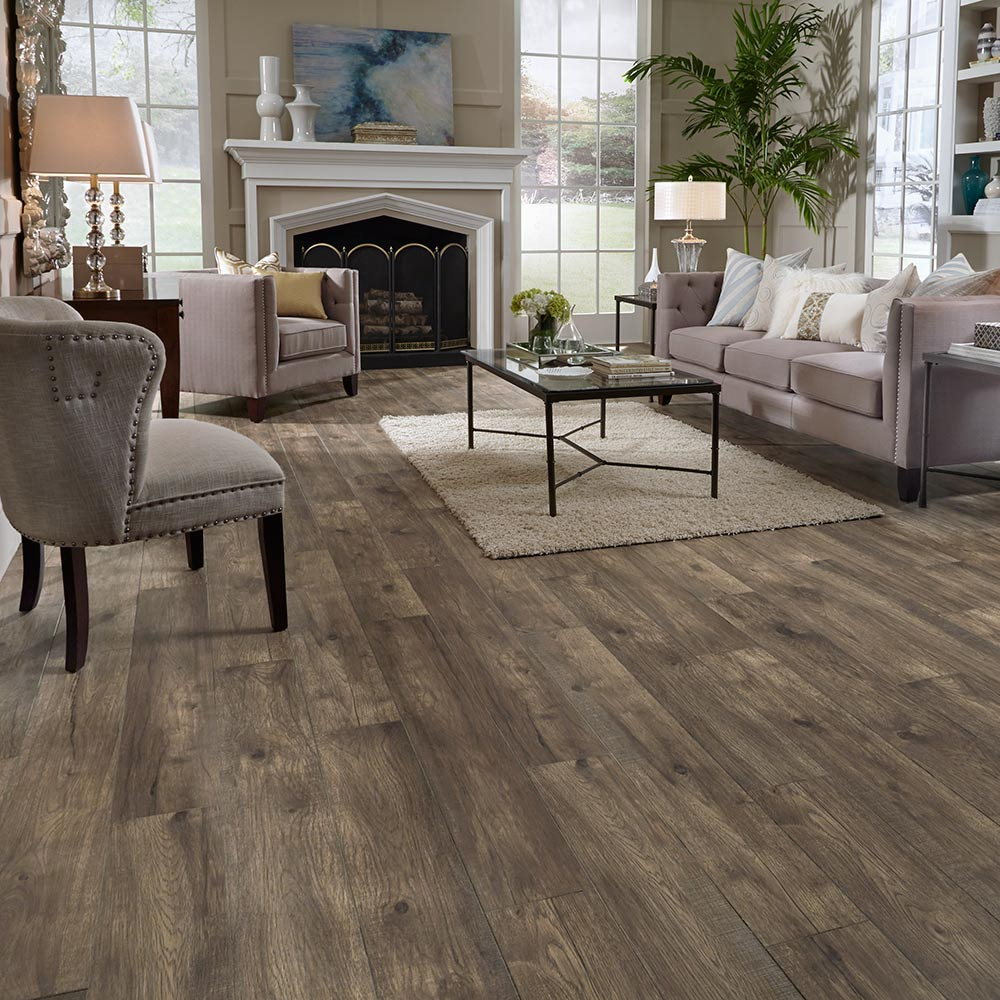 Laminate floor home flooring laminate wood plank - Laminate or wood flooring ...