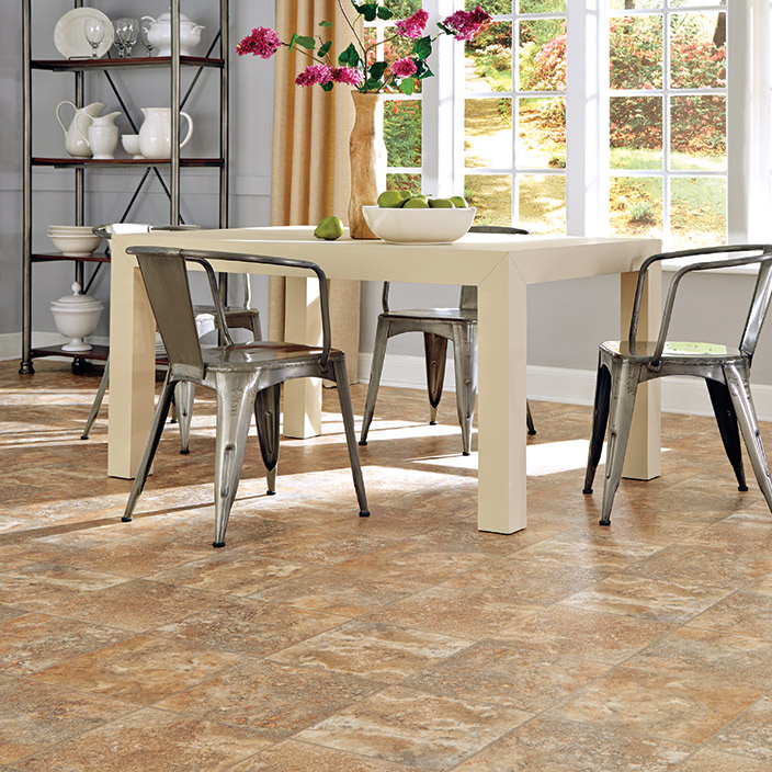 Luxury Vinyl Flooring Want New Floors Without The Mess
