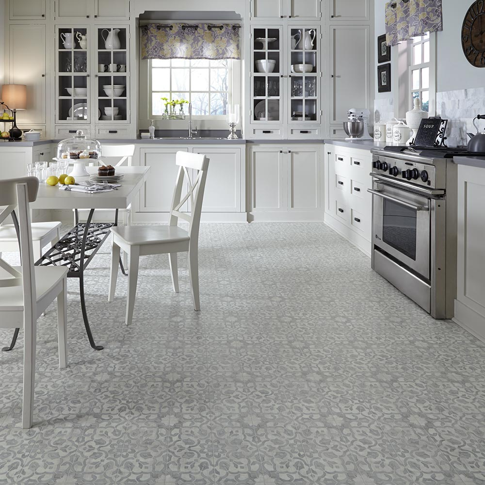 Luxury Vinyl Tile Sheet Flooring Unique Decorative Design