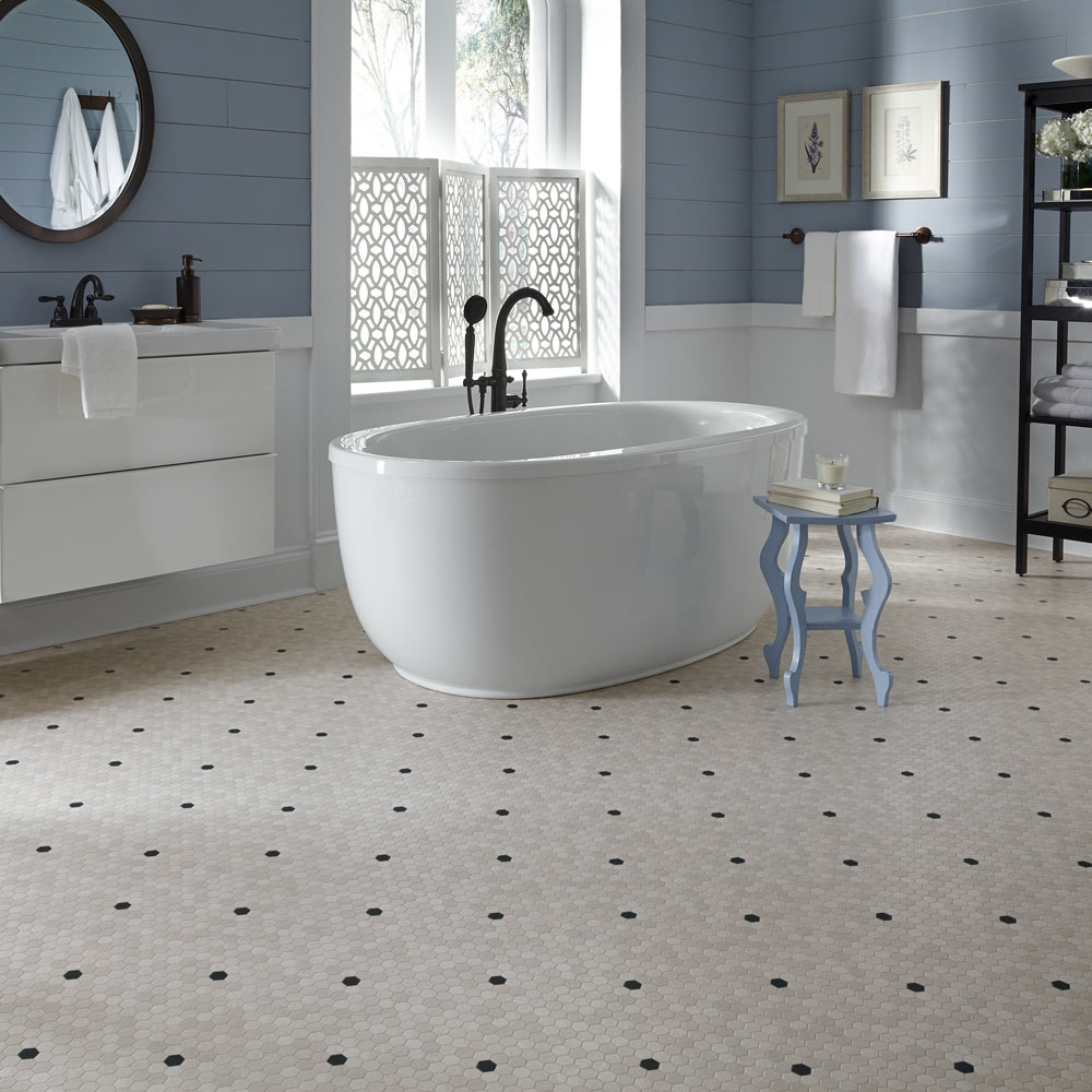 tile floor bathroom. Looking for Porcelain Tile  Flooring by Mannington Discover Adura Max