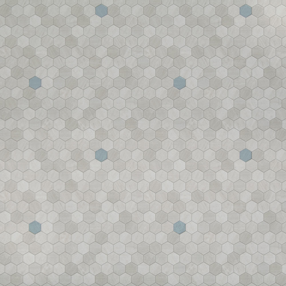 Luxury vinyl sheet flooring unique decorative design and pattern