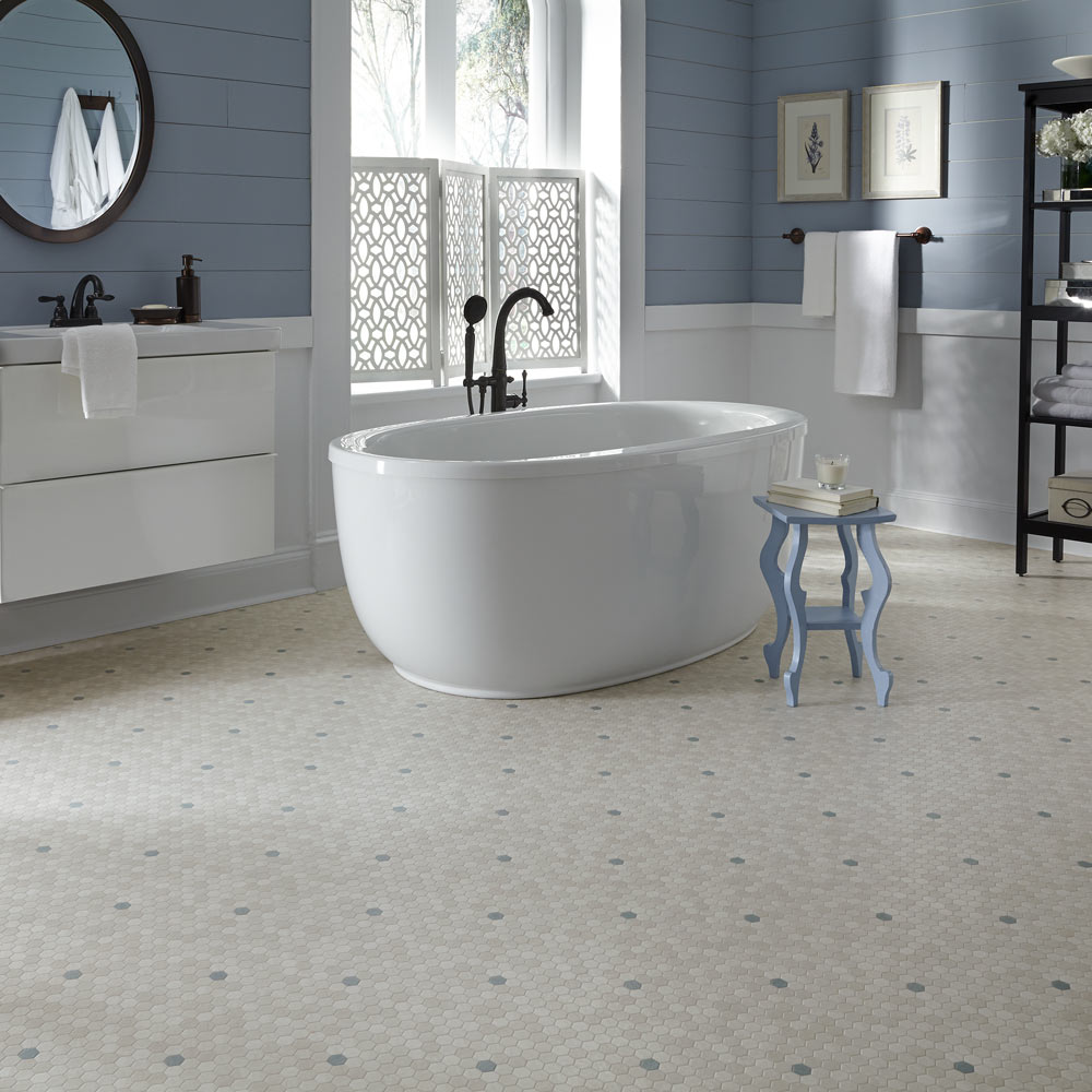 Luxury Vinyl Flooring In Tile And Plank Styles Mannington Vinyl - Shiny lino flooring