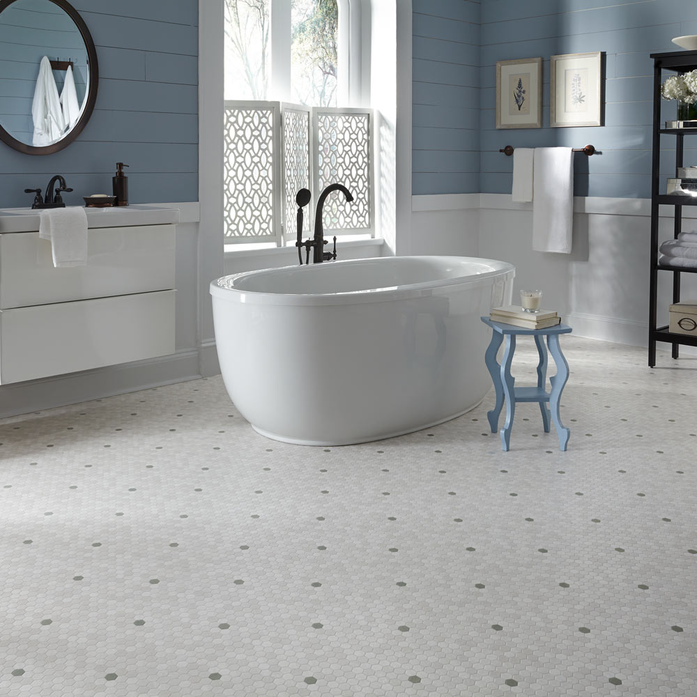 Luxury Vinyl Sheet Flooring Unique Decorative Design And Pattern For