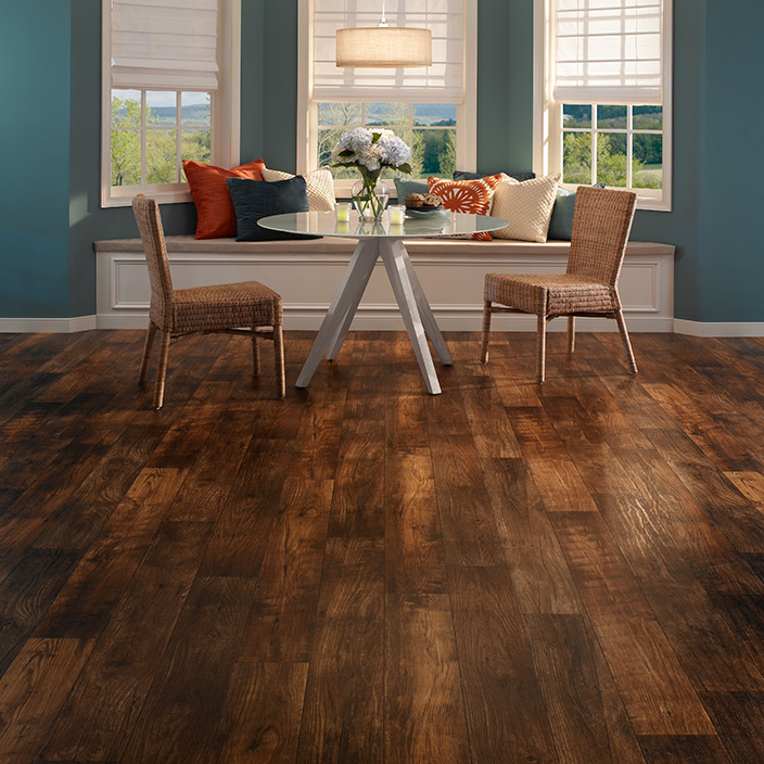 luxury vinyl flooring in tile and plank styles mannington vinyl sheet flooring - Wood Vinyl Flooring