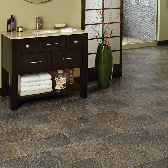 Resilient Vinyl Flooring Sensible Carefree Floor Mannington