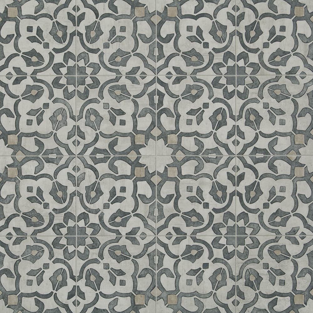 Vintage Ornate Design Inspiration Resilient Vinyl Floor For Kitchen