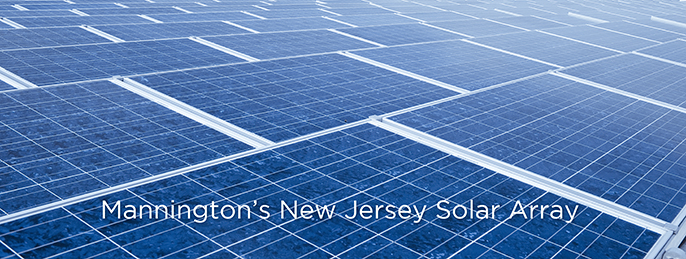 Mannington's New Jersey Solar Array