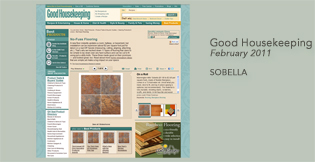 Mannington Sobella Supreme Ardesia featured in Good Housekeeping