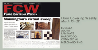 Floor Covering Weekly Dealer's Choice Mannington