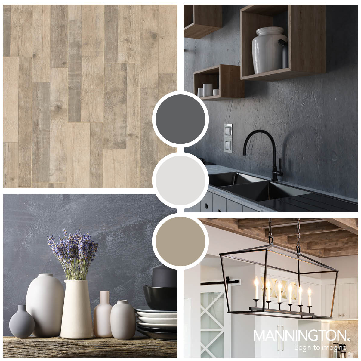Pine Laminate Wood Flooring Trend Board