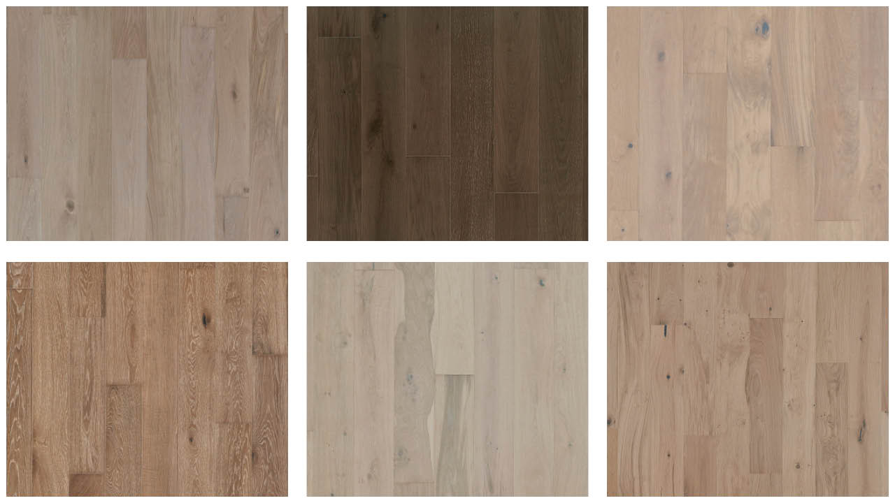 Shades of Hardwood Flooring