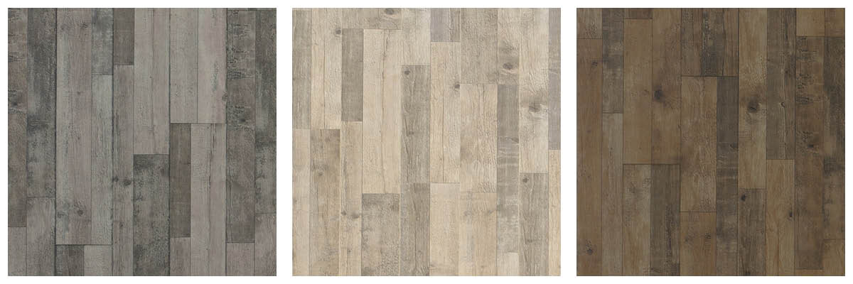 Different Colored Pine Laminate Wood Flooring