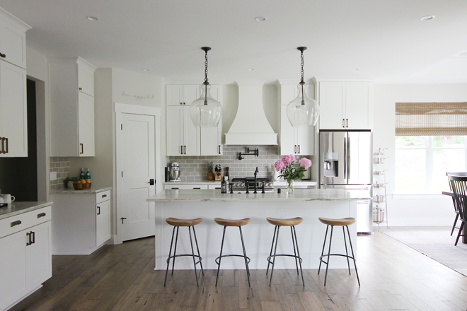 Modern Farmhouse Kitchen Flooring