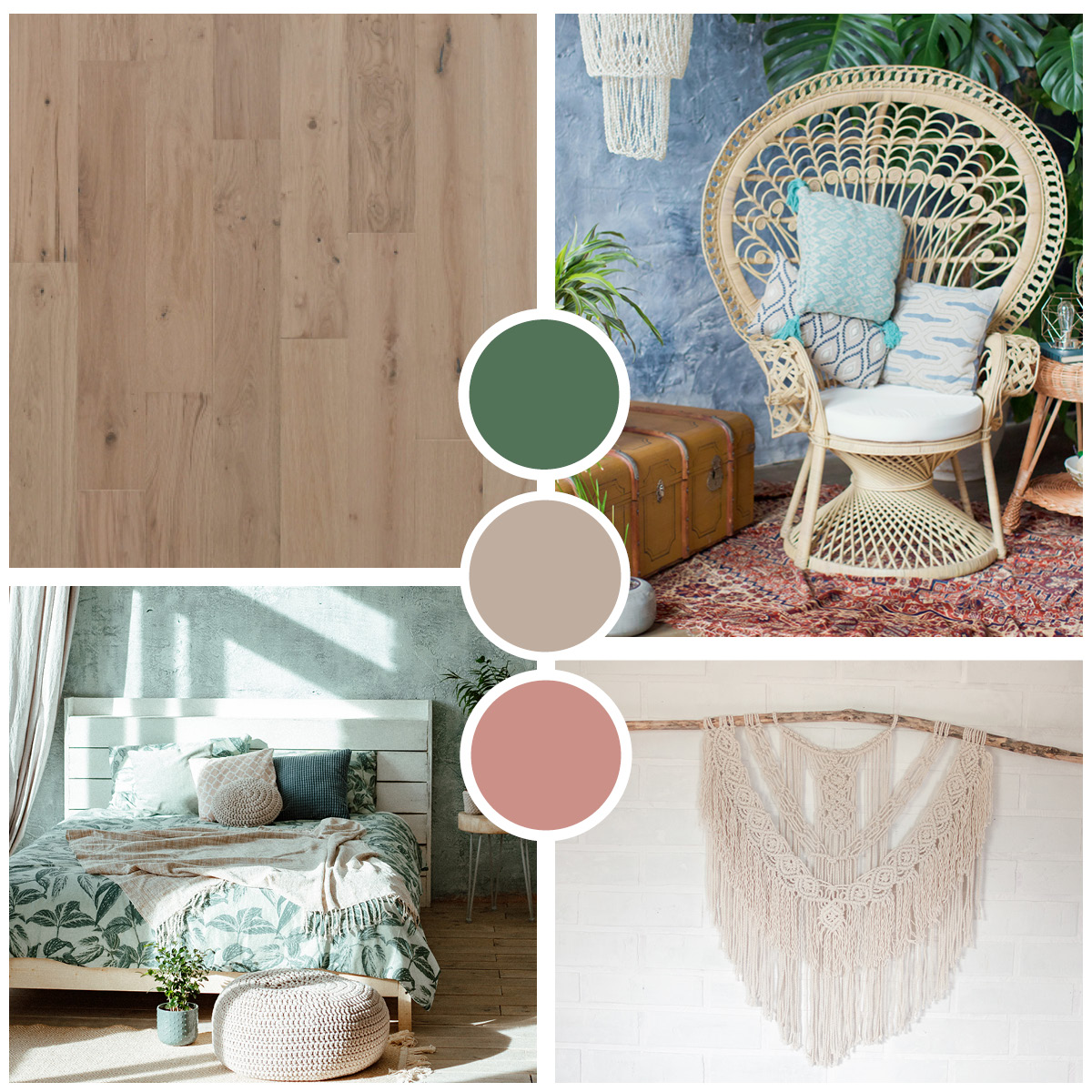 Hardwood Flooring Trend Board