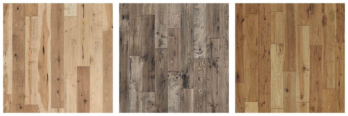 Hardwood Floors Color Palette