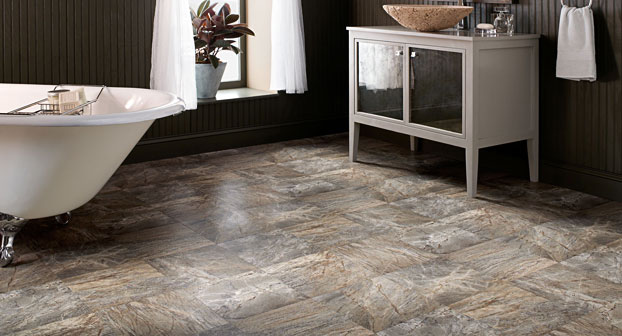 Mannington Ares Serpentine Green Resilient Flooring - 71231