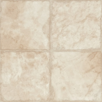 Mannington Indian Slate Creme Blush w/ Cameo Resilient Flooring - 17201