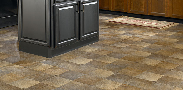 Mannington Bogota Coffee Bean Resilient Flooring - 17370