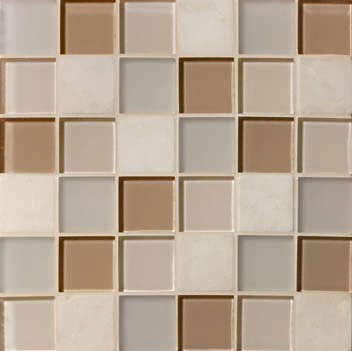 Mannington Accent Gallery Beige Blend Porcelain Tile - A03MMM