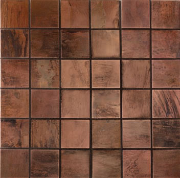 Mannington Accent Gallery Antique Copper Porcelain Tile - A09MMM