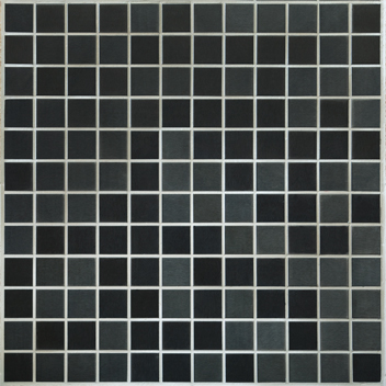 Mannington Accent Gallery Black Brushed Stainless Steel Porcelain Tile - A14MMM