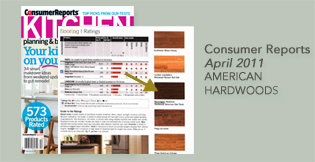 Mannington Floors Hardwood American Hardwoods rated in 2011 Consumer Reports Kitchen Planning Guide
