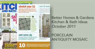 Mannington Flooring In the News Porcelain Antiquity Mosaic