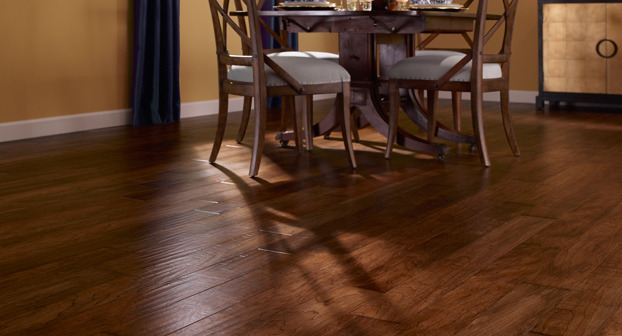 Mannington Mayan Pecan  Clove Wood Floors - MNP05CV1
