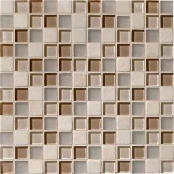 Mannington Accent Gallery Beige Blend Porcelain Tile - A00MMM