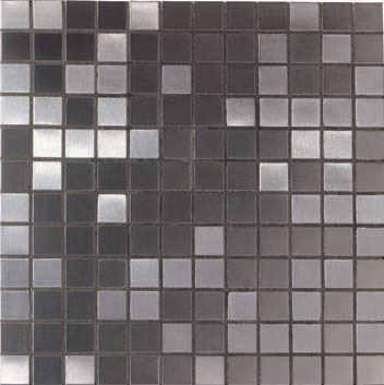 Mannington Accent Gallery Brushed Stainless Steel Porcelain Tile - A06MMM