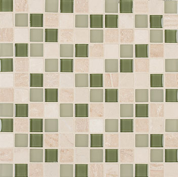 Mannington Accent Gallery Seagrass Blend Porcelain Tile - A10MMM