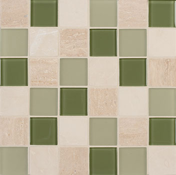 Mannington Accent Gallery Seagrass Blend Porcelain Tile - A12MMM