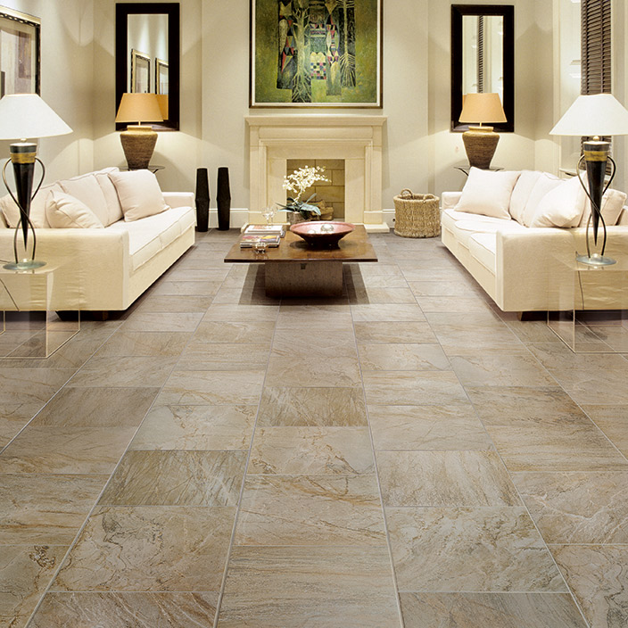 Porcelain Tile Slate Wood Look